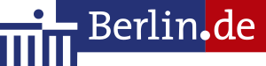 Das Logo der Justizvollzugsanstalt Berlin Moabit.